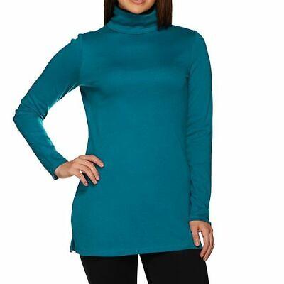 Liz Claiborne New York Essentials Size 3X Peacock Blue Turtl