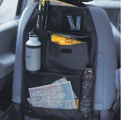 2 x Back Seat Car Seat Multi Pocket Organizer