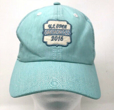 a98c423d31b 2016 US Open Oakmont CC Cap Hat Hook and Loop Strapback C4a
