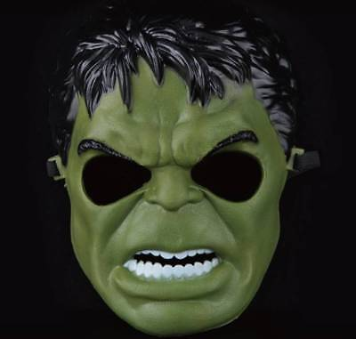 The Incredible Hulk ! Great Super Hero Life Like Mask ! With Something Extra !