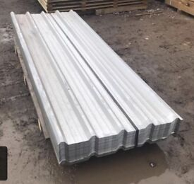 Galvanised roof sheets