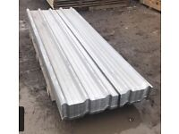 New box profile galvanised roof sheets various sizes
