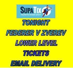 AUSTRALIAN OPEN TENNIS TICKETS TUESDAY 24 NIGHT - FEDERER ZVEREV Carnegie Glen Eira Area Preview