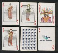 Collectible Air Line Advertising Playing Cards Garuda Airlines -  - ebay.co.uk