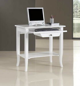 Mobile scrivania scrittoio porta computer ufficio studio ebay - Mobile porta computer ikea ...