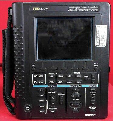 Tektronix Ths720 Oscilloscope Handheld100mhz 2ch 500msas