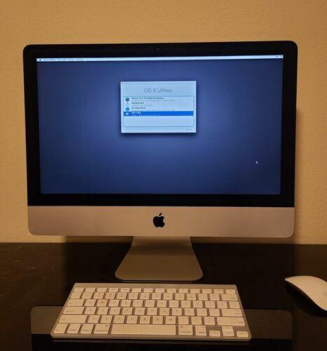 """Apple iMac 21.5"""", 2.7 GHz i5, 8 GB RAM, 1 TB HDD, Late 2013 used"""