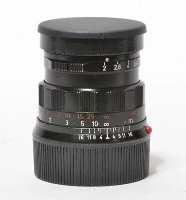 [FedEx] Leica Leitz Summicron-M 50mm f/2 Black Paint Good Condition