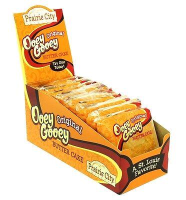 Prairie City Bakery Original Ooey Gooey Butter Cake 2 oz each / 10 ct