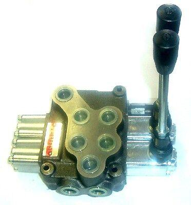 Va Mb-4-2s-318le-8 - Youli 2 Spool Monoblock Valve. Spring Centered. Cylinder