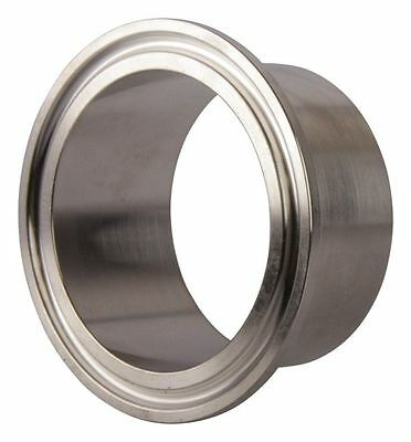 Weld Ferrule Tri Clamp 2 Inch X 28.6mm - Sanitary Ss304 2 Pack