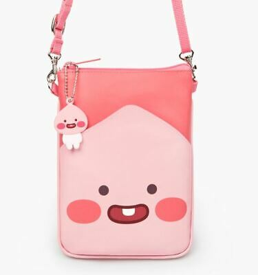 Kakao Friends Little Friends Apeach Kids Square Basic Crossbody Shoulder Bag