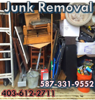 JUNK REMOVAL AND SCRAP JUST CALL ME