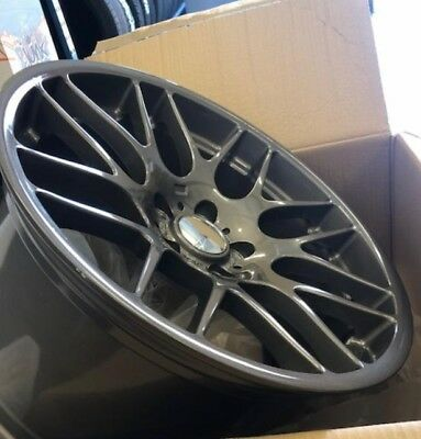 """19""""bronze alloy wheels fits bmw 3/5 series vw t5/t6 csl staggered with tyres, used for sale  Wembley"""