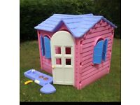 Little Tikes Pink Country Cottage Playhouse Complete RRP£299, Can Deliver 40mile
