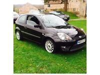 Ford Fiesta zetec S - chequered flag edition