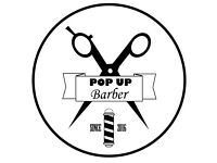 The Pop Up Barber- Mobile Barber
