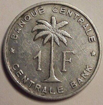 Belgisch Congo Belge - 1 Franc 1959 Ruanda Urundi