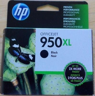 New Genuine HP 950XL Black Inkjet  ink cartridge Sealed Retail CN045AN Exp 02/21 ()
