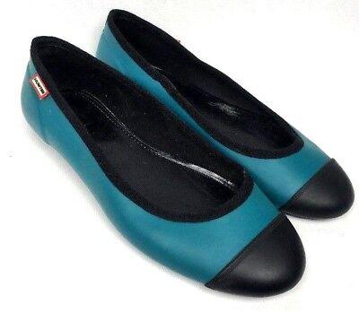 Hunter Rubber Rain Women's Flat Shoes Size 5 Uk / 7 US