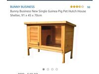 Small guinea pig hutch