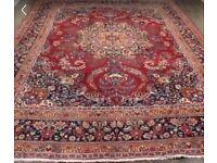 Handmade Persian Wool Rug 3.8 x 3 meters