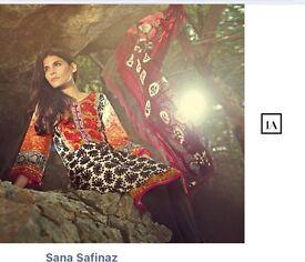 Sana Safinaz Sitched suit