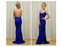 Blue formal dress size 8 Pia Michi