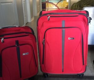 Brand new 2 piece soft luggage Delsey