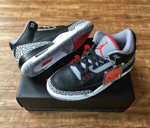 DS  2018 Air Jordan 3 OG Black Cement