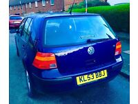 Golf Automatic 8 month 12month mot very reliable lady owners 2 owner only