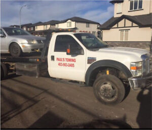 Paul's Towing: Cheap $79 FlatRate Towing Anywhere in Calgary!