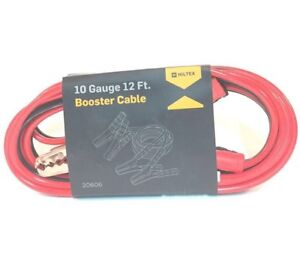 BOOSTER CABLE 10 GAUGE x 12' / mrorion.com