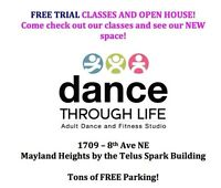 FREE Trial classes and open house!!  Sept 2nd and Sept 3rd!