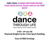Join us for FREE TRIAL CLASSES and OPEN HOUSE!