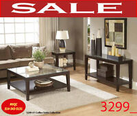 marble coffee tables, end site tables, 3299_01