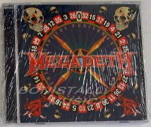 MEGADETH-CAPITOL-PUNISHMENT-The-Megadeth-Years-CD-Sigillato