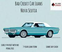 Get Bad Credit Car Loans Nova Scotia Today!