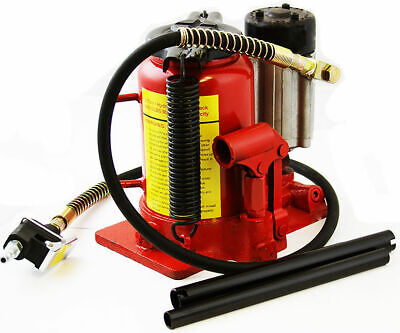 20 Ton Shop Air Manual Hydraulic Bottle Jack Automotive Lift Hoists Jacks Handle