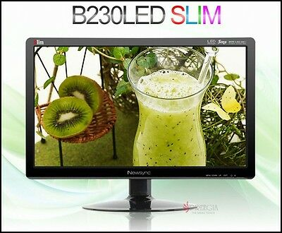 "Bitm - Newsync B230 LED SLIM 23"" 1920 X 1080 @ 60Hz FHD / WIDE 16:9 / 1000:1"