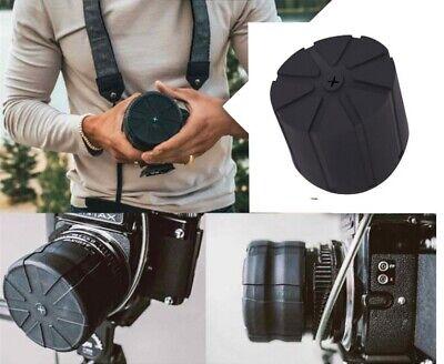 Bouchon Protection en Silicone Universel Imperméable pour Objectif Caméra Photo