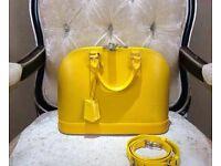 Louis Vuitton Alma AM Epi Leather Bag