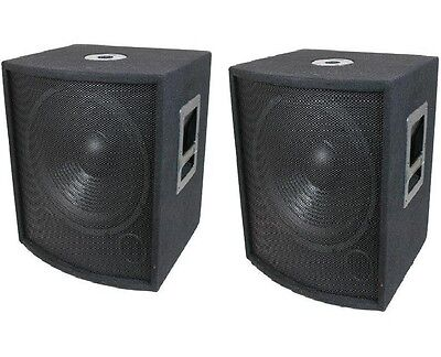"""NEW (2) 12"""" SUBWOOFER Speakers PAIR.Woofer Sub box.DJ.PA.BASS woofers.Pro Audio. for sale  USA"""