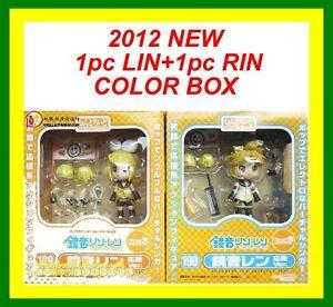 2PCS-VOCALOID-Nendoroid-KAGAMINE-LEN-RIN-cheerful-cheer-leader-anime-Figure-Gift