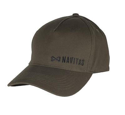 New Navitas Apparel Core Range Green Baseball Cap - One Size - Carp Fishing
