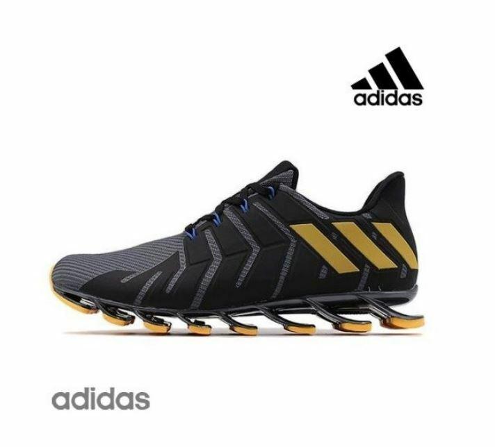 the latest e42d8 68d89 Adidas Tennis Springblade Pro Black Fashion Sneakers,Shoes B49444 Men's