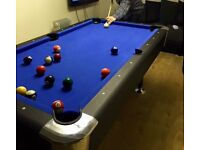 American pool table selling due to moving £300 paid £600 for it