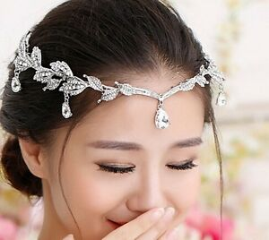 **BRAND NEW** Rhinestone Encrusted Wedding Tiara Silver