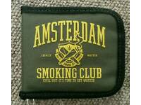 "Explicit Industries Wallet ""Amsterdam Smoking Club"" Wallet."