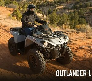Used 2015 Can-Am OUTLANDER L 450